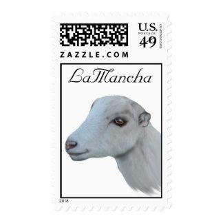 Franqueo de la cabra de la lechería de LaMancha