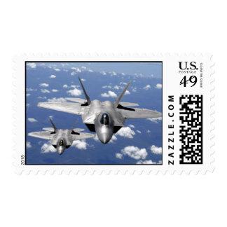 Franqueo de la cautela del rapaz F-22 Estampillas