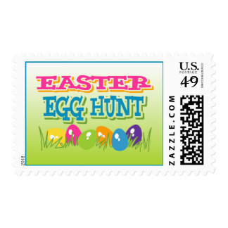 Franqueo de la caza del huevo de Pascua