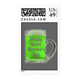 Franqueo de la cerveza del verde del día de St Pat