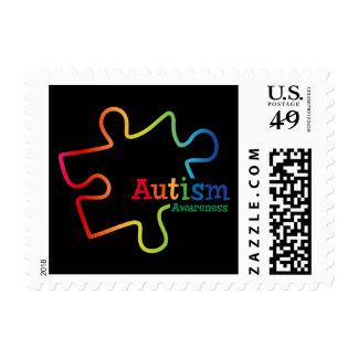 Franqueo de la conciencia del autismo de la pendie
