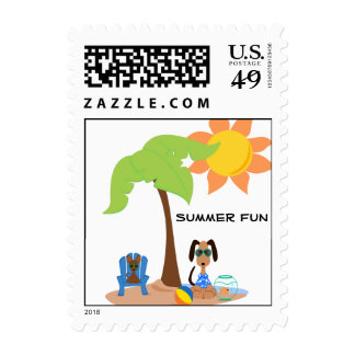 Franqueo de la diversión del verano