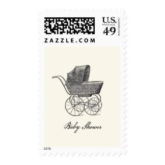 Franqueo de la fiesta de bienvenida al bebé del co sellos postales