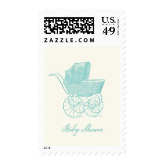 Franqueo de la fiesta de bienvenida al bebé del co timbre postal