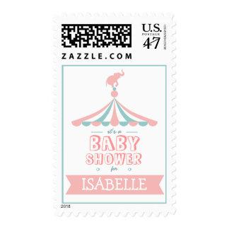 Franqueo de la fiesta de bienvenida al bebé del sellos