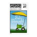 Franqueo de la fiesta de bienvenida al bebé del timbres postales