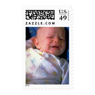 Franqueo de la foto del bebé