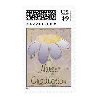 Franqueo de la graduación de la graduación de la e timbre postal