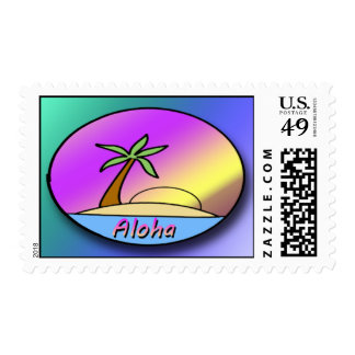 Franqueo de la isla de la hawaiana