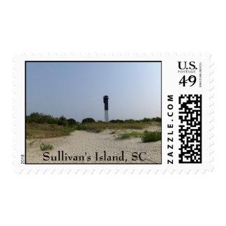 Franqueo de la isla de Sullivan Estampilla