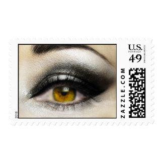Franqueo de la moda del maquillaje del ojo