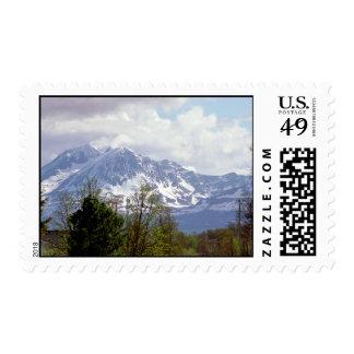 Franqueo de la montaña Nevado Sellos Postales