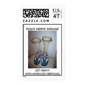 Franqueo de la neuropatía - modificado para sellos postales
