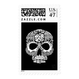 Franqueo de la oscuridad de Bella Muerte del La Timbre Postal