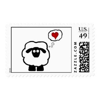 Franqueo de la oveja del amor