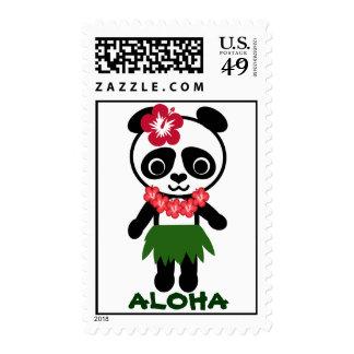 Franqueo de la panda de Hula