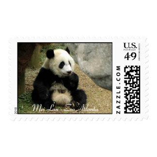 Franqueo de la panda - Lan de Mei Sellos
