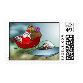 Franqueo de la raza del espacio sello postal
