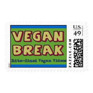 Franqueo de la rotura del vegano