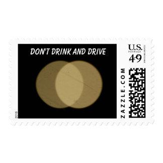 Franqueo de la seguridad de tráfico sellos postales