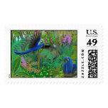 Franqueo de la selva del Macaw del jacinto