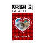 Franqueo de la tarjeta del día de San Valentín de