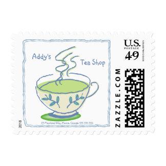 Franqueo de la taza de té