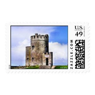 Franqueo de la torre de O'Brien Timbres Postales