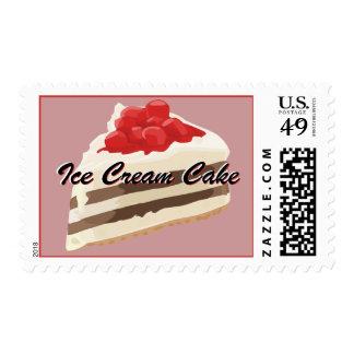 Franqueo de la torta del helado