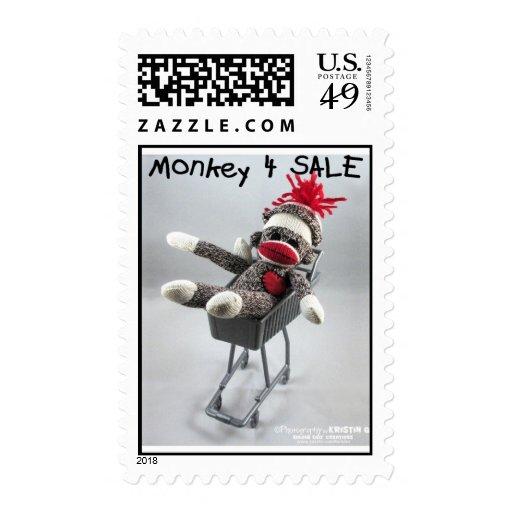 Franqueo de la venta del mono 4 (por el kolohe estampillas