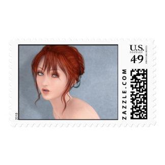 Franqueo de la verdad timbre postal