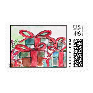 Franqueo de las cajas de regalo