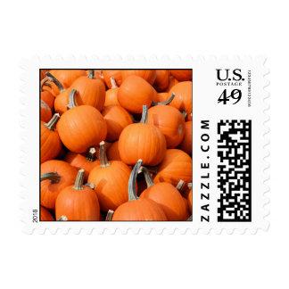 Franqueo de las calabazas timbres postales