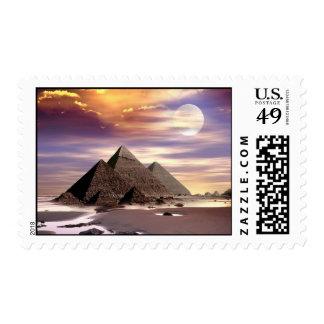 Franqueo de las pirámides