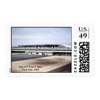 Franqueo de los aeroplanos sello