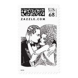 Franqueo de los años 20 del rugido sello