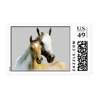 Franqueo de los compinches del caballo sellos