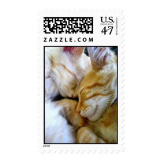 Franqueo de los gatitos del Snuggle Sellos