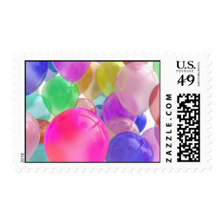 Franqueo de los globos timbres postales