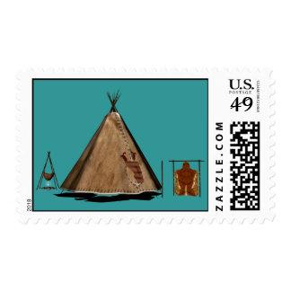 Franqueo de los nativos americanos