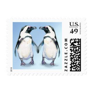 Franqueo de los Pals del pingüino Estampillas