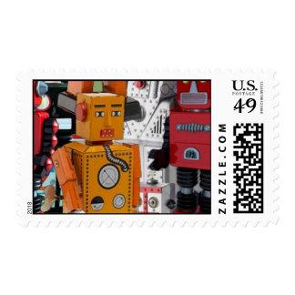 Franqueo de los robots