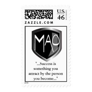 Franqueo de MAO con cita del éxito