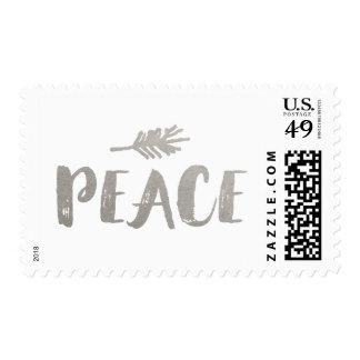 Franqueo de moda del día de fiesta de la paz - timbres postales