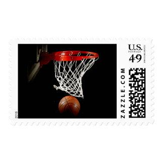 Franqueo de moda único moderno del baloncesto estampillas