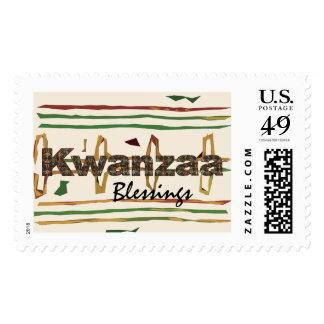 Franqueo de Mudcloth Kwanzaa del africano