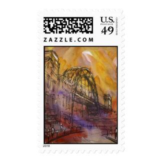 Franqueo de Newcastle del puente de Tyne