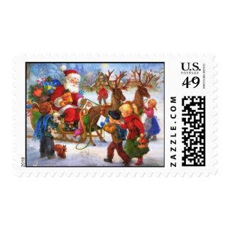 Franqueo de Papá Noel