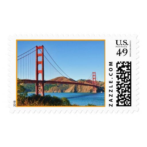 Franqueo de puente Golden Gate de San Francisco