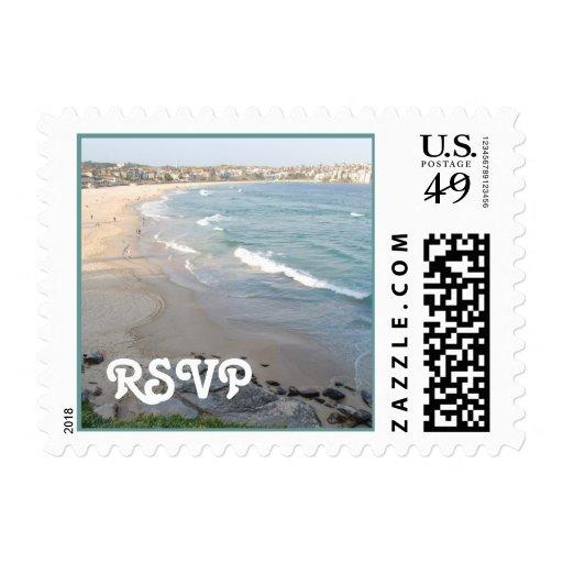 Franqueo de RSVP de la playa